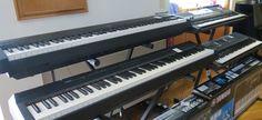 Procura um piano digital ou um teclado? Venha ao Salão Musical de Lisboa ou consulte o nosso site www.salaomusical.com