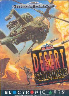 Saga MegaDrive: Desert Strike