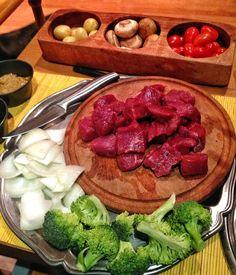 Beef bourguignon & vegetables