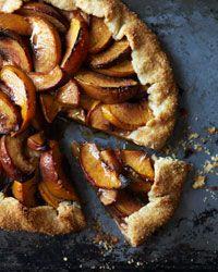 Peach Crostata Recipe on Food