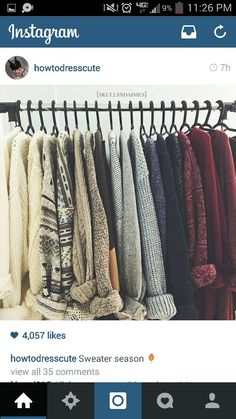 winter images, image search, & inspiration to browse every day. Sweater Sale, Sweater Cardigan, Pretty Shirts, Elegant Outfit, Sweater Weather, Girly Girl, Wardrobe Rack, My Style, Sweaters