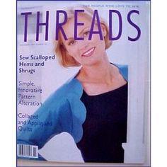 Threads Magazine November 1999 Number 85 (Paperback) #home decor #home #decor