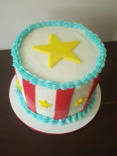 Circus smash cake Sugar Creek Confections