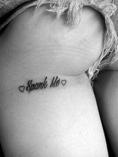 spank me #inked