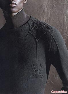 Всем кто любит пауков, паучков, человека паука и т. п. Идеи для вязания Легких петелек