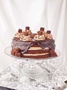 Tarta de Nutella y chocolate - Megasilvita