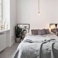 B e d r o o m | the monochrome artwork sitting on the floor is such a nice touch and creates a point of difference from the norm #littlethingsinteriors #interiors #design #interiordesign #interiorstyling #interiorstyle #inspo #inspiration #beautiful #dreamy #love #picoftheday #pintrest #fab #sydney #beautiful #inspo #inspiration #monochrome #bed #bedroom #linen #art #plants #white #light #simple #newzealand