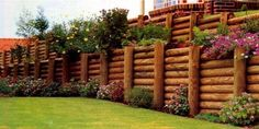 Magnificent Timber Retaining Walls