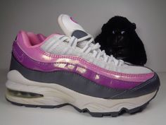 1d082efcb Kids Nike Air Max 95 Running Training shoes size 4.5 Y US 3180830-102 Girls