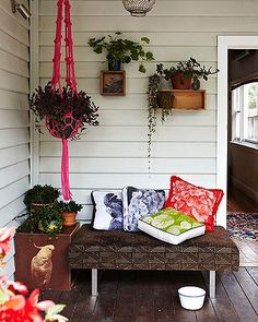 The Brunswick, Melbourne home of designer couple Bonnie Ashley and Neil Downie.