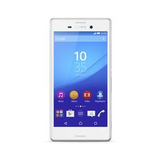 The Xperia M4 Aqua is a waterproof camera phone with a long lasting 2-day battery.