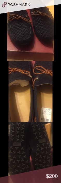 BALLY Navy Suede Drivers Men BRAND NEW Size 8 BRAND NEW Never worn Bally suede drivers for men with box. US Size 8. Original price is $495 and I'm selling below!! Perfect for summer!!! Bally Shoes Loafers & Slip-Ons