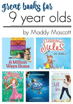 Books for 5 year old readers
