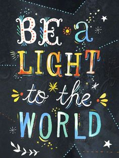Be a Light to the World, Our Favorites Canvas Wall Art | Oopsy daisy
