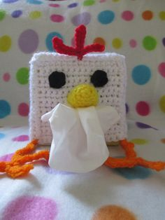 Check out this item in my Etsy shop https://www.etsy.com/listing/190897496/chicken-tissue-box-cover