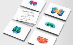 pretty business cards  SigmundFreud