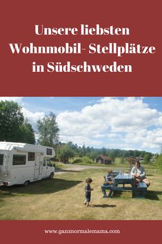 Our favorite RV sites in Unsere Lieblings-Wohnmobilstellplätze in Schweden Vacation with a motorhome in Sweden – Womo- pitches in southern Sweden, location description and accommodation tips - Camping Signs, Camping Car, Camping And Hiking, Camping With Kids, Family Camping, Retro Camping, Travel With Kids, Family Travel, Camping Kitchen
