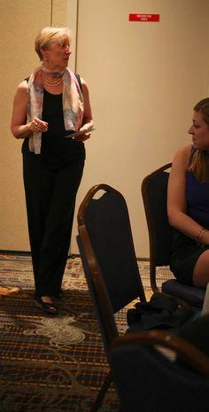 Our amazing advisor, Linda Feltman