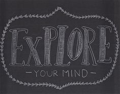 explore your mind