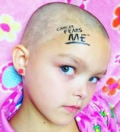 """Show cancer who's in charge with these temporary tattoos! (coolkidscampaign.org).  """"I know these are meant for kids, but I would have loved to have put one of these temporary tattoos on my chest on the opposite side of my portacath as an inspiring surprise for my chemo infusion nurses!""""  ~Skye"""