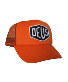 DEUS Baylands trucker cap - orange