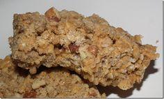 Pumpkin Spice Streusel Rice Krispies Treats at Baking and Boys!