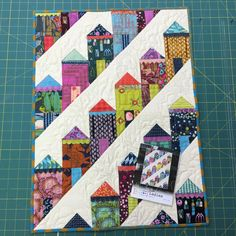 Labor Day SALE Fierce Ladies Mini Quilt Pattern by ModernQuilter