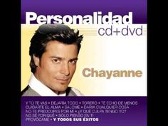 Chayanne - Personalidad CD completo - YouTube
