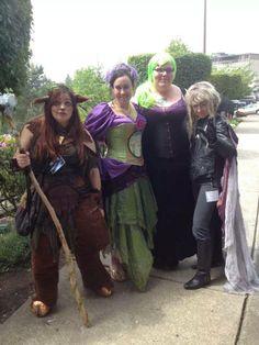 Faun, :**:Fairy Princess Lolly:**:, ?, Jareth all at Crypticon 2014