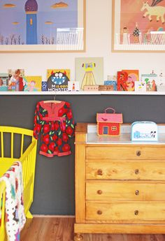 Kids room - Vintage drawers - ninainvorm