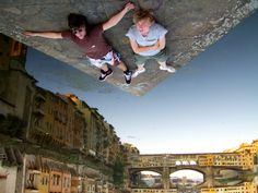 Forced Perspective, Florence, Italy By Christiaan Triebert