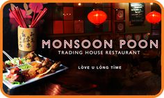 South East Asian restaurant Monsoon Poon has restaurants in both Wellington and Auckland Asian Restaurants, House Restaurant, Auckland, Monsoon, Typo, New Zealand, Packaging, Branding, Spaces