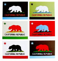 california flag postcards by annie galvin California Logo, California Republic, Northern California, Paper Packaging, Niece And Nephew, Elmo, Postcards, Dorm Room, Annie