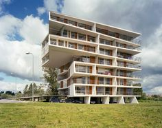 Tartu Rebase Street by Atelier Thomas Pucher and Bramberger. Apartments designed with the amenities of a single family home.