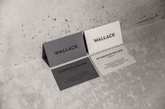 wallack business cards