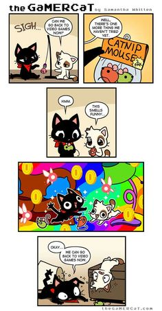 the GaMERCaT :: Too Real | Tapastic Comics - image 1