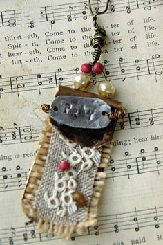 Love this homemade necklace