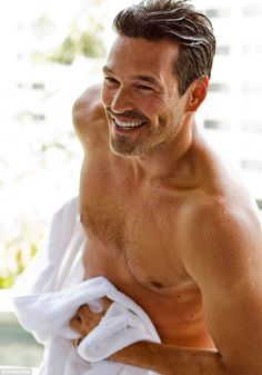 Eddie Cibrian... you are sexy.. and your wives are nuts.  Let me console your dimples once you are divorced. ;)