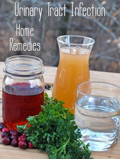 Treating Urinary Tract Infection with Cider Vinegar and Other Home Remedies