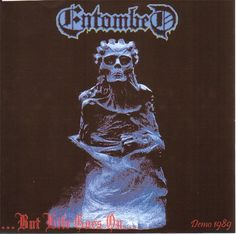 """ENTOMBED - """"But Life Goes On - Demo 89"""" (Bootleg cd cover)."""