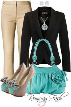 Fun way to dress in business attire #businessattire #personalbrand www.cynthiawhiteandassociates.com