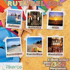 #RutadelSol saliendo de #Guayaquil visitando #Salinas #Ballenita #Olón #PuertoLópez #Montañita por 3 días/2 noches desde $369. Incluye : transporte privado, alojamiento, desayunos diarios, guía de turismo . Para cualquier consulta o cotización llámanos a los teléfonos 04 2380326 - 04 2380258 o escríbenos a la dirección de E mail : ventas@pikeros.com. Nuestros ejecutivos de Pikeros Tour Operator estarán gustosos de asesorarte. #Ecuador#Guayas#Manabí#ViajaPrimeroEcuador#vacaciones…