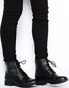 Image 4 ofNew Look Wide Fit Blip Lace Up Ankle Boots
