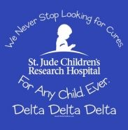 I was blown away when I visited St. Jude's in 2007.  The hospital, doctors, and the patients are amazing and inspiring!  And of course the Delta Delta Delta area for teens is awesome, too.  :)