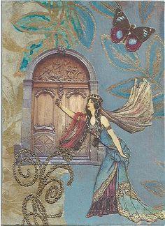 Princess image form Dover Publishing.