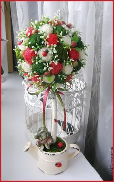 Christmas Decorations, Table Decorations, Diy Centerpieces, Silk Flowers, Glass Vase, Bouquets, Crafts, Home Decor, Ideas