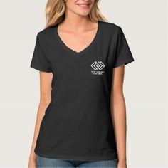#women - #Your Company Logo Shirt Women's V-Neck B