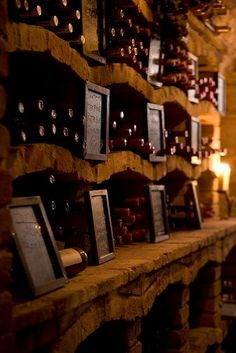 11,000 bottles in an underground wine cellar, Cave de Vinhos at Vila Vita Parc Cave , Algarve, Portugal