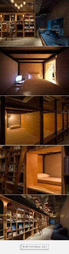 Book-Store Themed Hotel in Tokyo – Fubiz Media - created via http://pinthemall.net