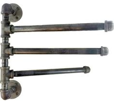 pipe towel rods - Google Search